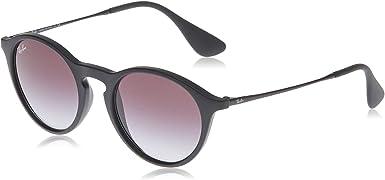 Ray-ban Mod. 4243 - Gafas de sol unisex, color negro (rubber black), talla 49