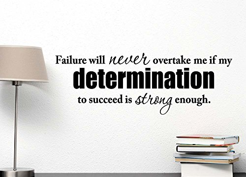 Failure overtake determination succeed inspirational product image
