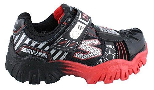 Skechers Boy's, Damager IV Turbocharge Sneaker Black RED 1.5 M