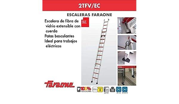 ESCALERA PROFESIONAL 2TFV/EC FARAONE. LCS (2TFV.550/EC 19+19 ...