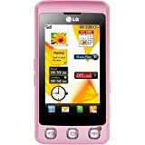 LG KP500 Cookie Unlocked Phone with Camera (Pink)-International Version with No Warranty