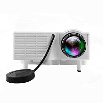 QTT Mini Proyector, Hogar LED Mini Mini Portátil LED HD Proyector ...