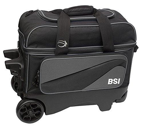 BSI 3212 Wheel Double Roller Bag, Black/Grey, Large