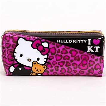 Estuche rosa Hello Kitty con corazones, de Japón: Amazon.es ...