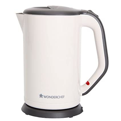 Wonderchef Luxe 63152566 1.7-Liters Electric Kettle (Ivory)