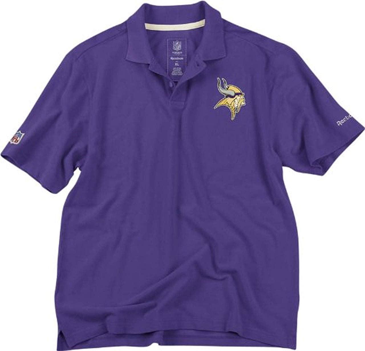 Amazon Minnesota Vikings Reebok Nfl Vintage Polo Shirt Sm