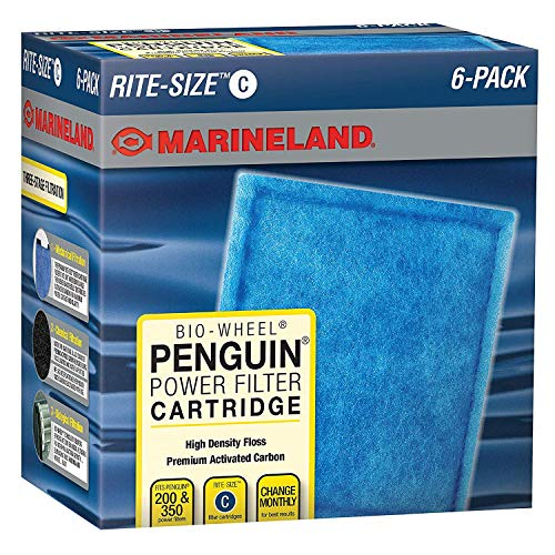 MarineLand Rite-Size Penguin Power Filter Cartridges (2 Boxes(6-Pack))