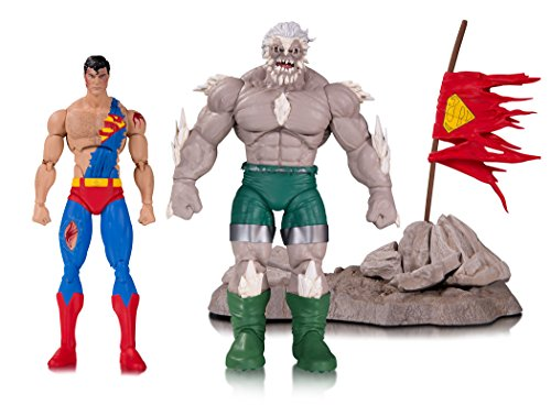 Doomsday Figure Set - DC Collectibles The Death of Superman Doomsday & Superman Deluxe Action Figure (Pack of 2)
