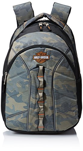 Harley Davidson Laptop Backpack Camo