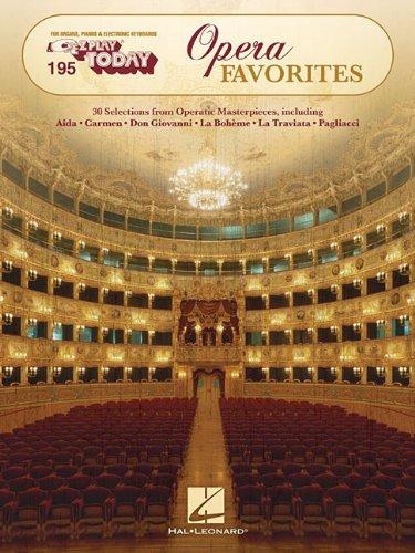 Opera Favorites: E-Z Play Today Volume 195