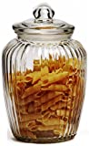 Best Circleware Glass Jars - Circleware Optic Glass Canister With Glass Lid, 76 Review