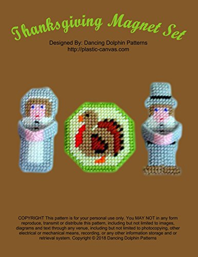 - Thanksgiving Magnet Set: Plastic Canvas Pattern