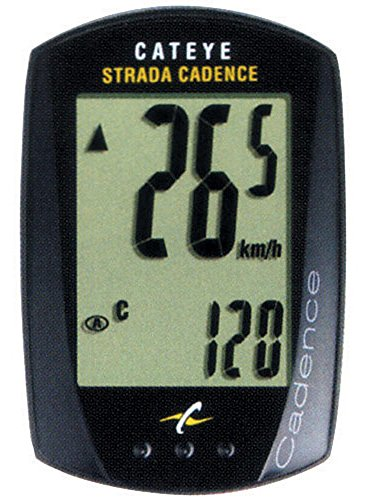 CatEye - Strada Cadence Cycle Computer (Bike Computer With Cadence)