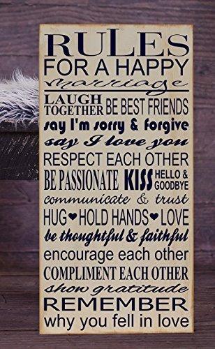 Amazon.com: Adonis554Dan Regla para un feliz matrimonio ...