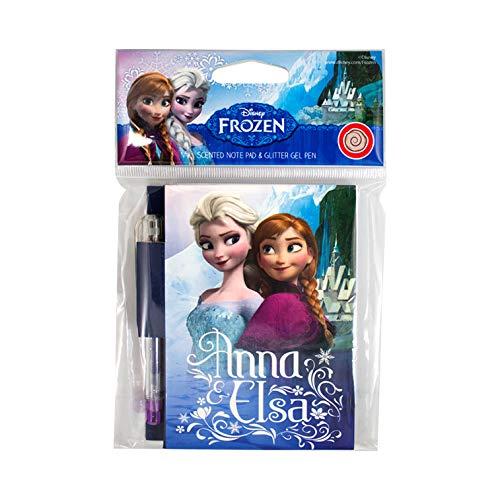Scentco Disney Frozen: Elsa & Anna - Cinnamon Roll Scented Mini Note Pad with Glitter Gel - Notebooks Frozen Mini