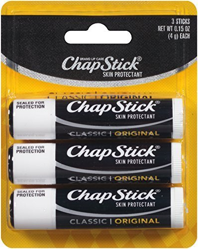 Chapstick Classic Original Lip Balm 0.15oz, 3 Pack