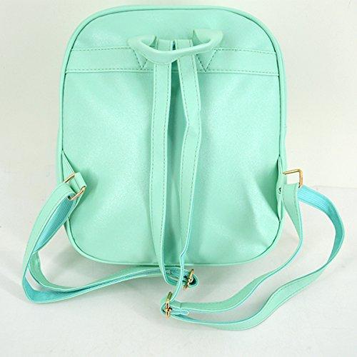 Heidi Bag Clear Candy Backpacks Teenager Ita Bag Transparent Love Heart School Bags Girls Kids Satchel by Heidi Bag (Image #5)