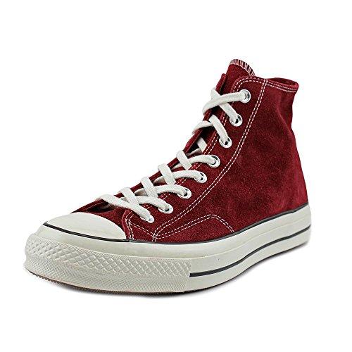 Converse All Star Prem Hi 1970's - Zapatillas abotinadas Unisex adulto Rojo Oscuro