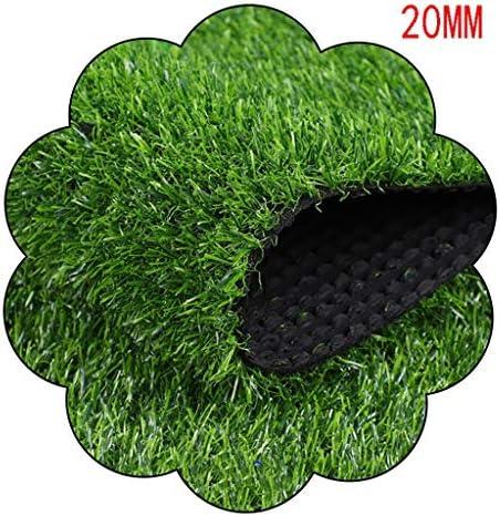 XEWNEG 屋外ウォールガーデングリーン暗号偽の芝生に適した20ミリメートル人工芝カーペットマット、当然のことながら現実的なペットマット、幅2M (Size : 2x2.5M)