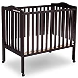 Delta Children Delta Children Folding Portable Mini Baby Crib with...