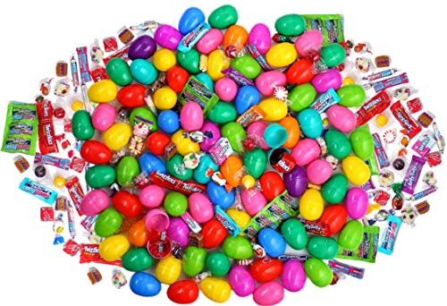 Candy Filled (Candy Filled Easter eggs with Great Assortment of Candy for Easter Hunts and Parties (100 Count))