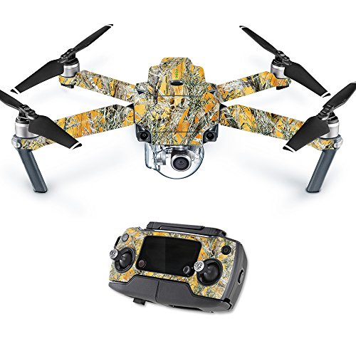 MightySkins Skin for DJI Mavic Pro Quadcopter Drone - Mc2 Blaze | Protective, Durable, and Unique Vinyl Decal wrap Cover | Easy to Apply, Remove, and Change Styles | Made in The USA