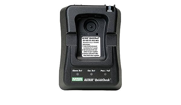 ... de nitrógeno Altair North American versión quickcheck estación con manual regulador para detector de gas ALTAIR Pro Single: Amazon.es: Amazon.es