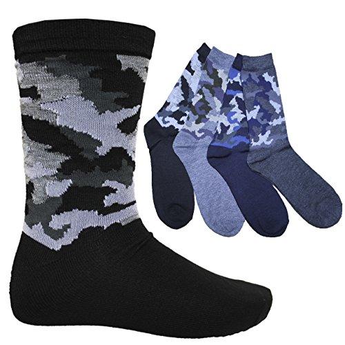 FERETI Chaussettes Hommes Militaire Camouflé Urban Camouflage Cam Jungle Style D'hiver Classique 1