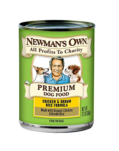 Newman's Own Chicken & Brown Rice Formula for Dogs, 12.7-Ounce Cans (Pack of (Control Formula Canned Food)