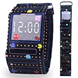 Pavaruni Paper Watch, Waterproof Tyvek Handmade Digital Wrist Watch, Christmas Gift for Friends and Family, Wooden Watch (Elf)