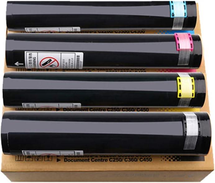 互換性ありXEROX CT200539 CT200540 CT200541 CT200542の互換性のあるトナーカートリッジの交換XEROX DocCentre C250 360 450 4300 3300 2200トナーのトナーカートリッジ,4colors