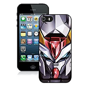 iPhone 5S Gundam Black Screen Phone Case Lovely and Popular Design