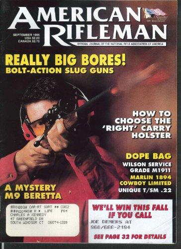 AMERICAN RIFLEMAN Bolt-Action Slug Guns Holsters M9 Beretta 9 1996