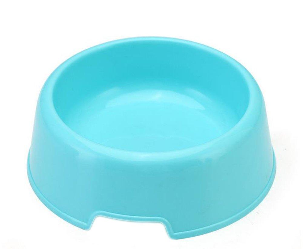 Namgiy Gamelle pour Animal Domestique Chat Lapin Bol Mangeoire Nourriture Eau Chiot Bol Plat Plastique Saine Bols 13.8* 12* 4.2cm