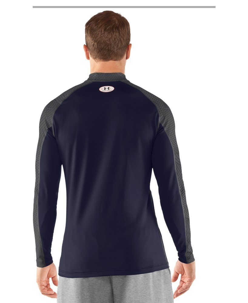Under Armour Mens UA Competition Fitted Baselayer Mock X-Large Midnight Navy