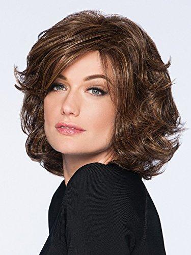 Modern Flair Wig Color R56/60 SILVER MIST - Hairdo Wigs Mid-Length Layered Soft Wave Bob Tru2Life Heat Friendly (Heat Wave Tab)
