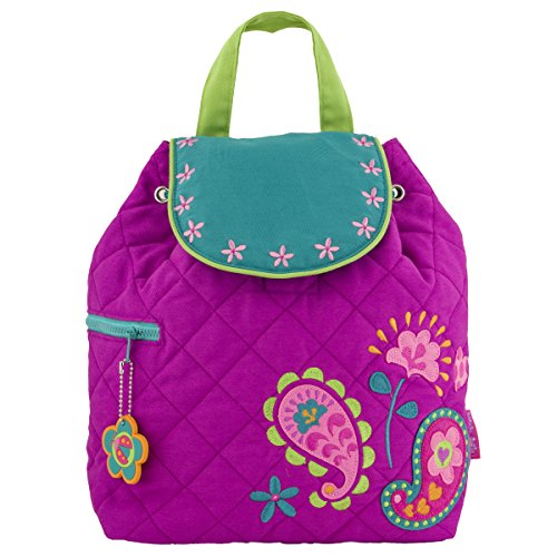 Stephen Joseph Girl Little Quilted Backpack, Paisley -