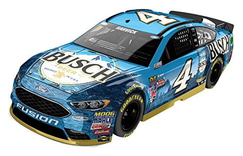 Nascar Series (Lionel Racing Kevin Harvick # 4 Busch 2017 Ford Fusion 1:24 Scale ARC HOTO Official Diecast of the Monster Energy NASCAR Cup Series)