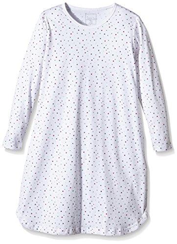 NAME IT Baby-Mädchen Nachthemd NITNIGHTGOWN K G NOOS, Gr. 140, Mehrfarbig (Bright White)