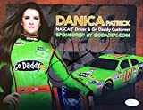 Danica Patrick Signed Go Daddy 2013 Hero Card 8X12 Photo JSA - Authentic Signed Autograph