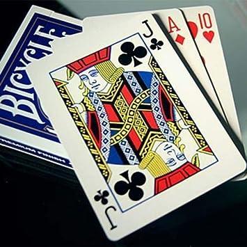 Bicycle Lefty Playing Card Deck - blue back - Tarjeta Juegos ...