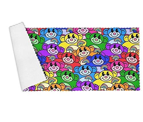 DGNMAOQ Catnip Rainbow Premium Multi-Functional Towel Set for Kitchen,Restaurant,Hotel,Dishwashing Super Absorbent ()