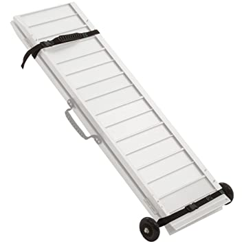 Amazon.com: Juego de rampa de aluminio para silla de ruedas ...