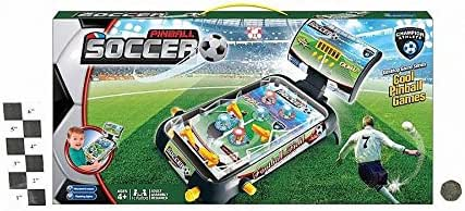 soccer games Juego de Mesa de fútbol, Juego de Pinball (Multicolor): Amazon.es: Juguetes y juegos