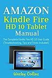 Amazon Kindle Fire HD 10 Tablet Manual