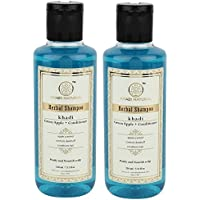 Khadi Natural Green Apple + Conditioner Hair Cleanser/Shampoo, 210ml (Pack of 2)