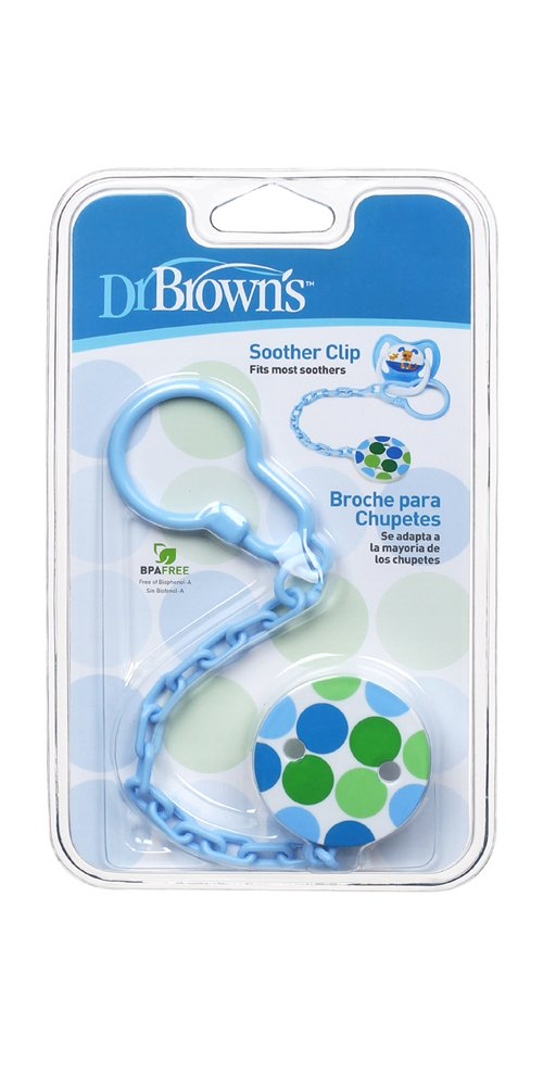Amazon.com : Dr. Browns Dr BrownS Pacifier Chain Baby Soother Clip ...