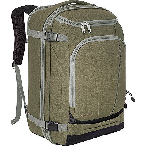 eBags TLS Mother Lode Weekender Convertible Carry-On Travel Backpack - Fits 19' Laptop - (Sage Green)