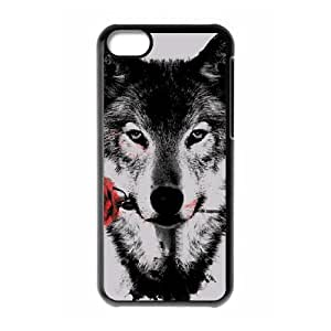 Creative Phone Case wolf For iPhone 5C A567441