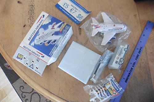 British Airways Airport gift Set FPAPS64 PLane bus helicopter acces. & road mat from Genric
